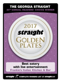 2017 Golden Plates Award