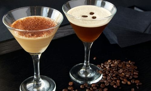 Coffee Martini's at Frankie's Jazz Club